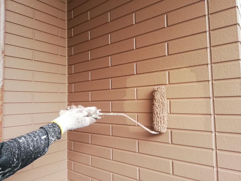 外壁塗装の上塗りは早く丁寧に