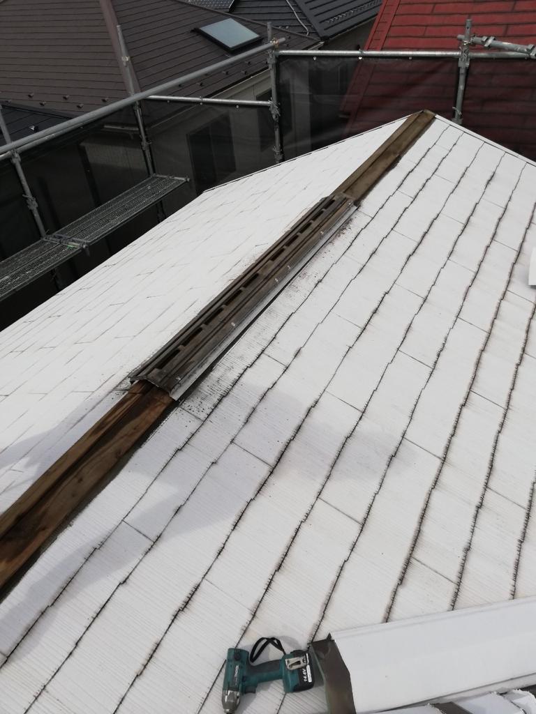 20数年ぶりの屋根修理
